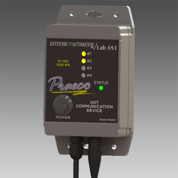 Praeco IIOT communication device photo