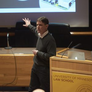 """MINNEAPOLIS, MN MARCH 2: University of Minnesota Law Journal Symposium on """"The Internet of Things"""" on March 2, 2017 in Minneapolis, Minnesota. © Tony Nelson"""