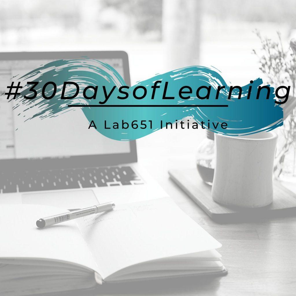 #30DaysofLearning