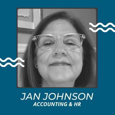 Jan Johnson, Accounting and HR